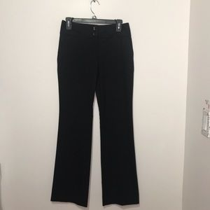 The Limited Cassidy Fit Black Slacks